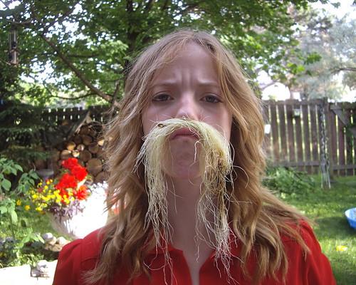 Moustachioed Lady