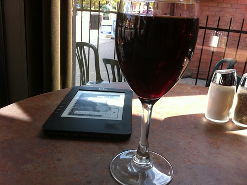 Wine and Kobo at Cafe One