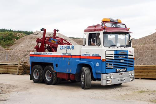 Scania 110 recovery BUK 200H