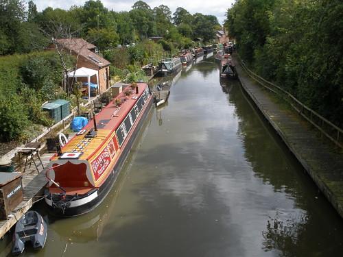Saltisford Canal Arm, Warwick