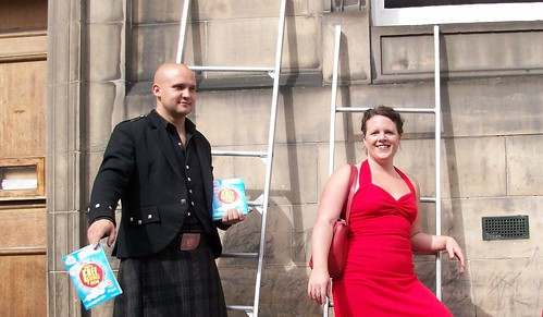 Edinburgh Festival 2011: On the Ladder with Hazel of the act Hazel and Henry