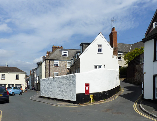 The streets of Topsham