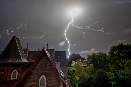 Thunderstorm over Vienna Cottage