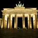 Brandenburg Gate at Night