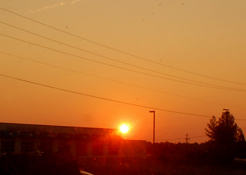 morning pink sky sun nature tom clouds sunrise landscape nc am nikon august chapelhill 2011 d40