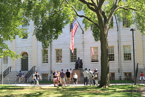 Tour of Harvard Yard.