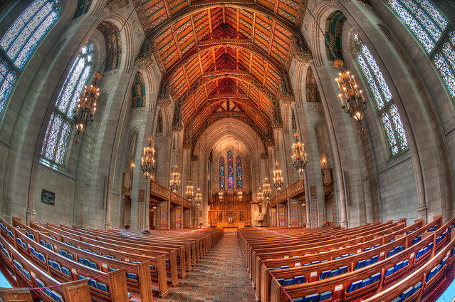 Sanctuary of the Fourth Presbyterian Church of Chicago
