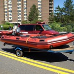Passaic Fire Department Rescue Boat, Paterson, New Jersey