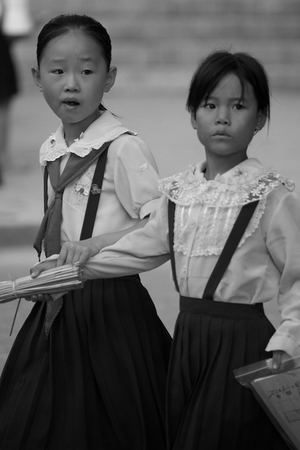 North Korea in Black and White