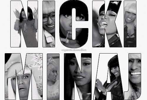 many faces of nicki minaj
