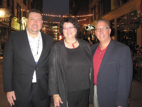 The Cleveland Delegation Jim Kukral, Anita Campbell and Joel LibavaContent Marketing World Cleveland 2011
