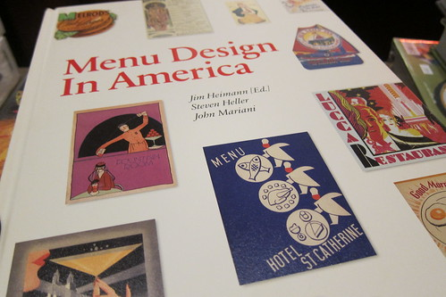 """Menu Design in America"" Book Party"