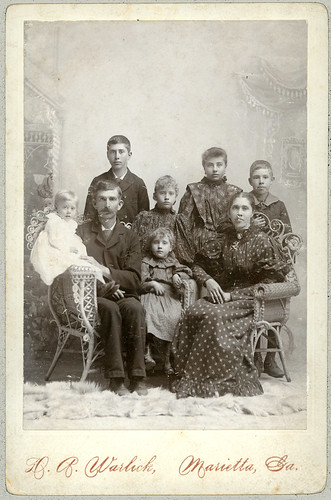 Family Cabinet Card