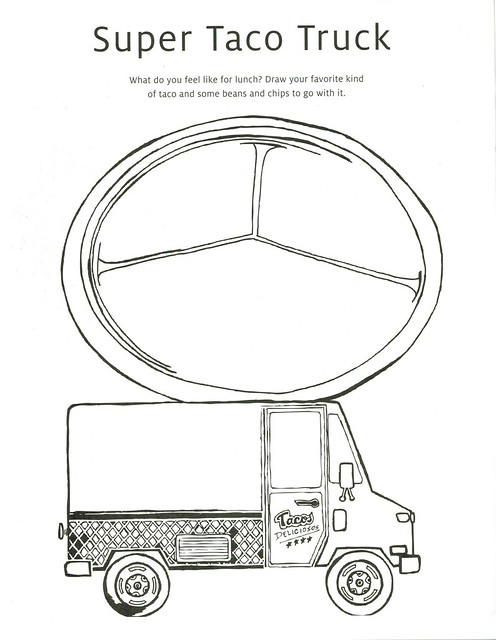 taco printable coloring pages - photo #44
