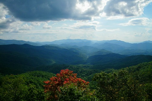 tower bald lookout appalachian nantahala wesser