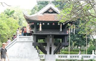 Image of  One Pillar Pagoda  near  Quận Ba Đình. autostitch panorama temple one pagoda stitch pillar buddhism vietnam hanoi hugin chùamộtcột diênhựutự liênhoađài