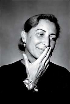 Miuccia Prada i-d magaine