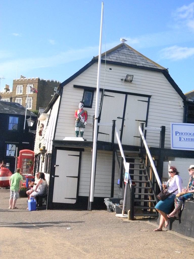 The old lifeboat house Margate to Ramsgate (well Broadstairs anyway)