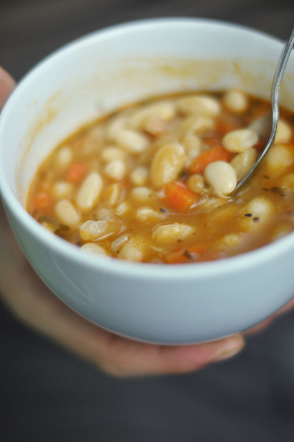 White bean soup | Flickr - Photo Sharing!