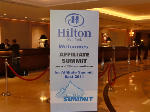 Hilton New York Welcomes Affiliate Summit East 2011