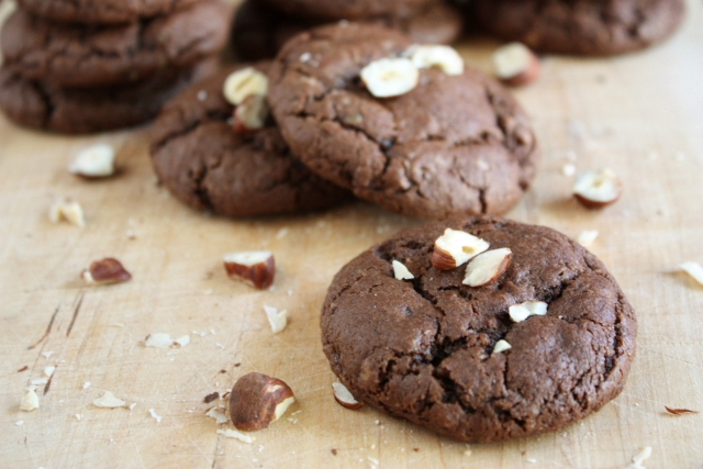Chocolate hazelnut cookies | Flickr - Photo Sharing!
