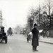 Police directing traffic at Hyde Park Corner in London in 1927