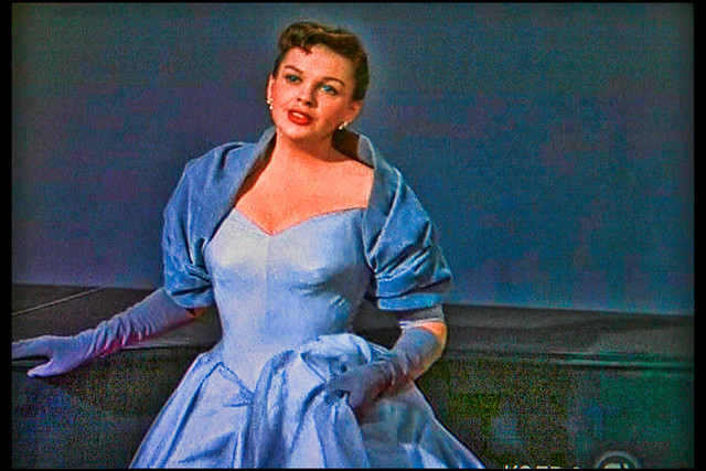With Singer Judy Garland…
