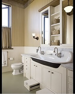 Farm Sink In Bathroom Via Hidden River Blog Explore Atexsk Flickr Phot