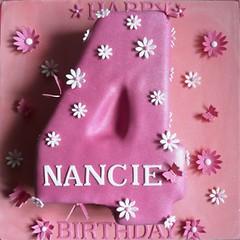 Number 4 Birthday Cake Girl
