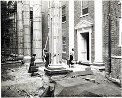 Ohio University Voigt Hall move in, 1954