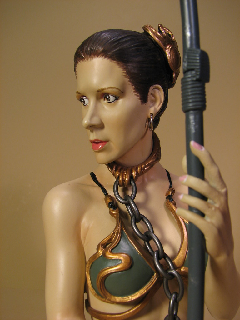 Sets appears in: • Princess Leia Organa as Jabba's Slave mini bust