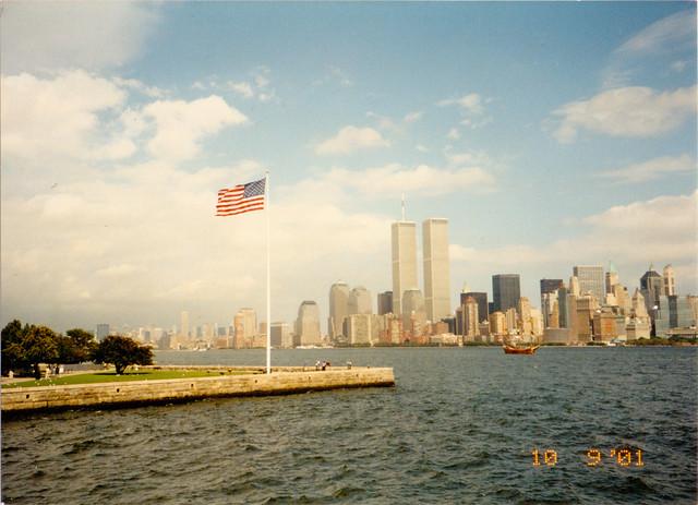9_10_01 USA Flag