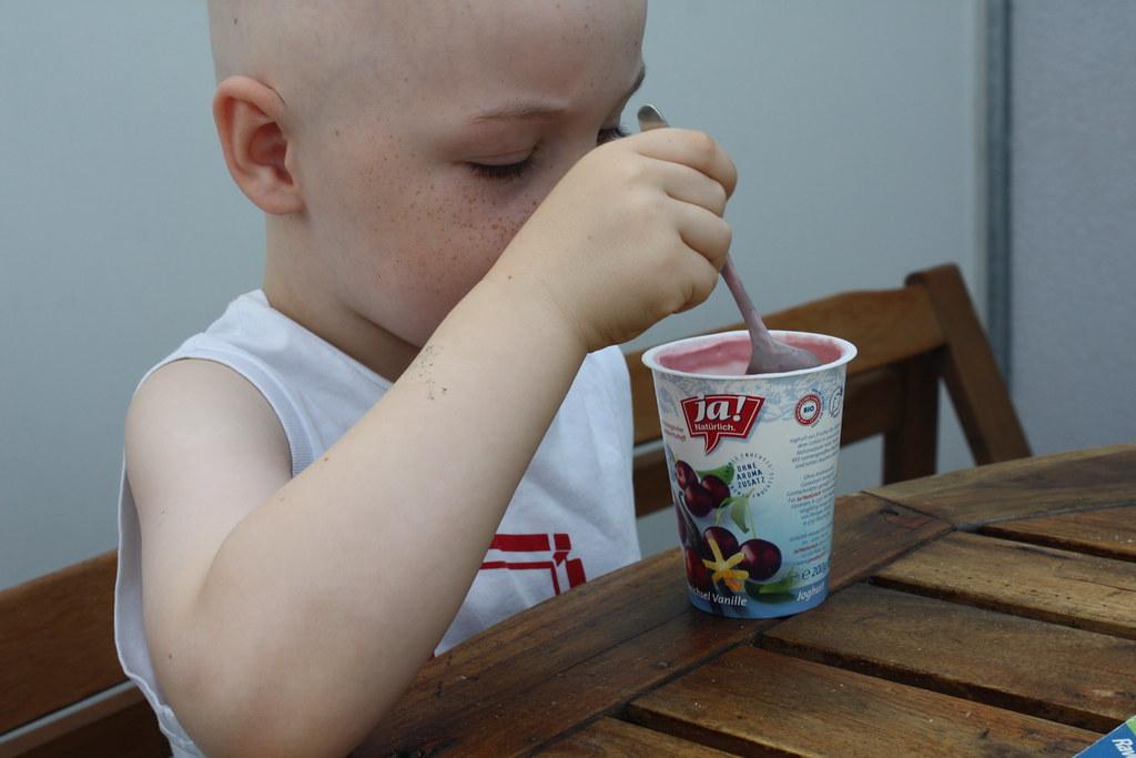 Endlich wieder Joghurts