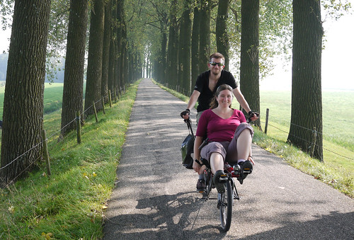 Friedel & Andrew (cycling in the Netherlands)