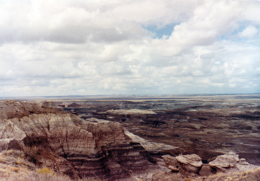 Early 1990s Painted Desert