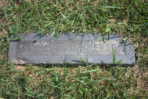 sherwood anderson grave marker