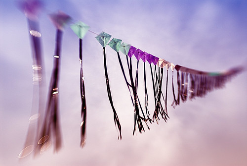 The bokeh kites