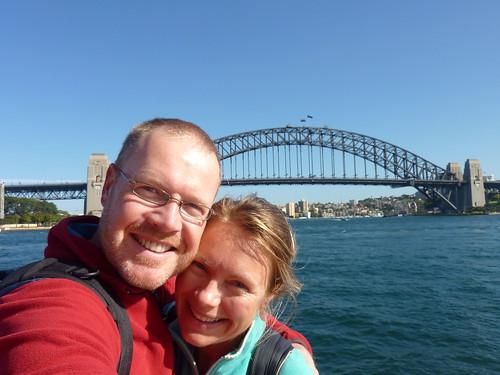 Sydney - Harbour Bridge na 15 uur vliegen