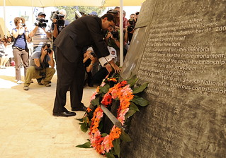 Tenth Anniversary Commemoration Ceremony 9/11 No187