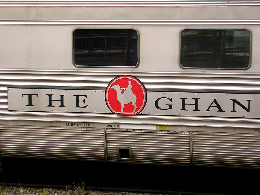 The Ghan at Keswick Terminus by baytram366