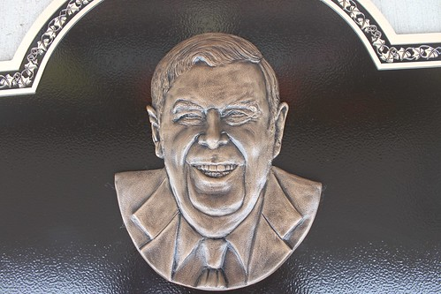 Bronze Bas Relief Photo Portrait Plaque