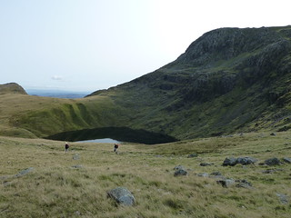 Angle Tarn and Esk Pike Cumbria