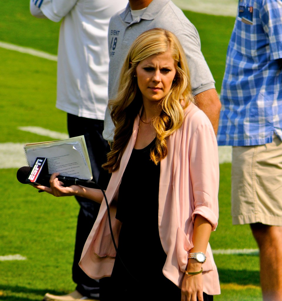 Espn Sideline Reporter Samantha Steele Now Samantha Ponde Flickr