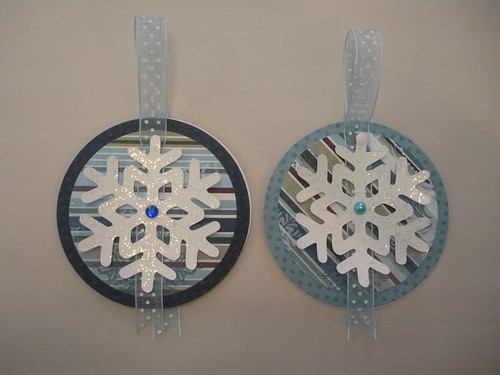 Snowflake Gift Tags 2011 Front