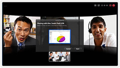 Group screen sharing on Skype 5.3 for Mac OS X