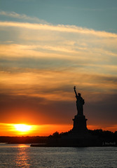 Sunset on Liberty by Jennifer MacNeill