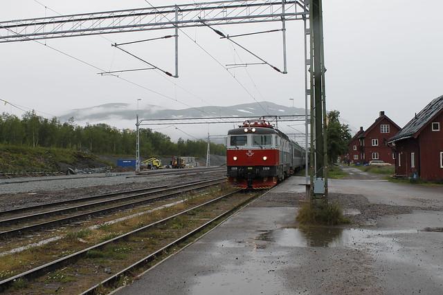 Abisko tren Sweden Suecia