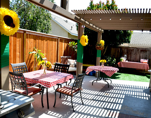 Birthday Bbq Decorating Ideas - how to host a fun backyard party ...