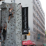 Summer Streets 2011: Rock Climbing Wall