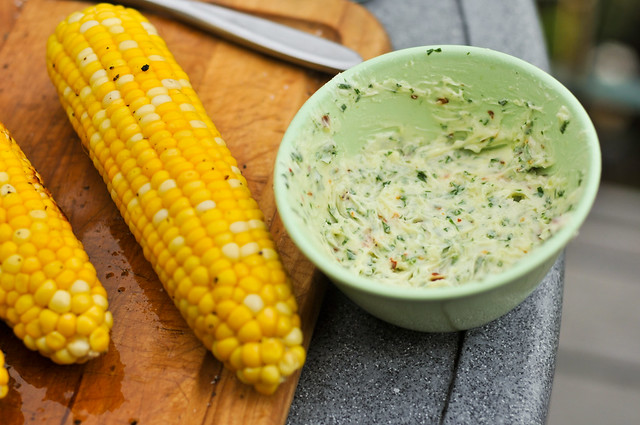 Italian-Style Grilled Corn Recipe :: The Meatwave